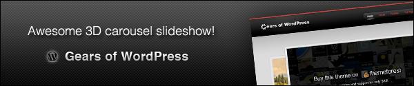 Gears of WordPress