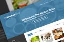 The Kitchen Table: Responsive Recipes WordPress Theme