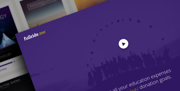 fullride.me —Crowdfunding for Students