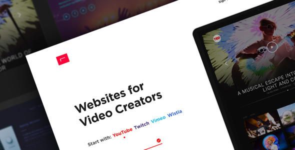 RIVYT — Websites for Video Creators